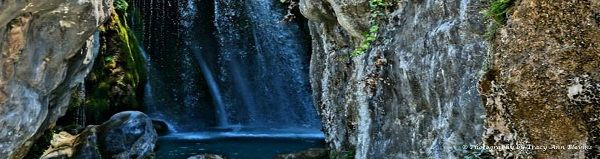 Places to visit on the Costa Blanca, Algar Falls