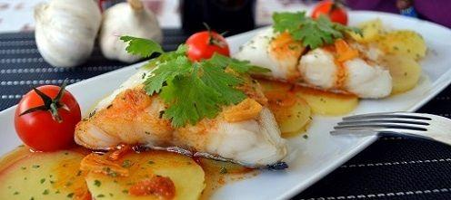 Cod with Paprika Sauce Recipe
