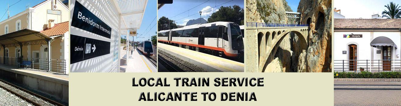Train Service Alicante to Denia Start your Journey