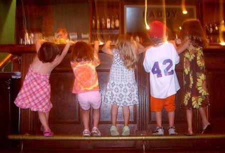 Children in Bars, Spanish Law