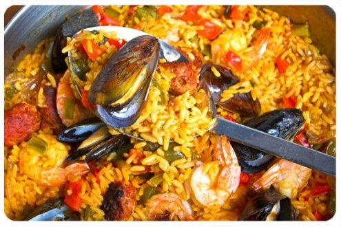Top 10 foods to try in Spain, Paella