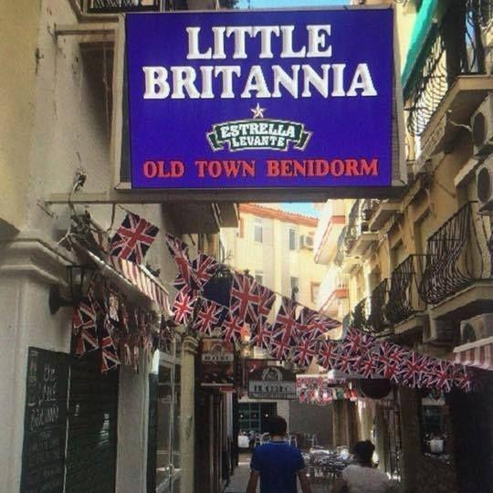 The Little Britannia Old town benidorm