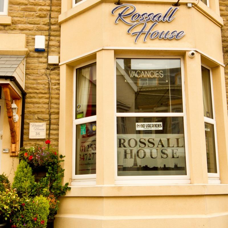 Rossall House Bed and Breakfast, Blackpool