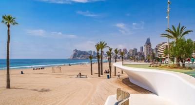 Poniente Beach - fabulous for walking along and people watching